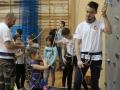 Ferie z RCS w Lubinie, wspinaczka (32)