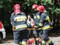 ćwiczenia ratowniczo - gaśnicze Lubin (20)