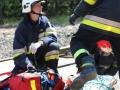 ćwiczenia ratowniczo - gaśnicze Lubin (44)