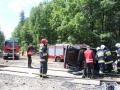 ćwiczenia ratowniczo - gaśnicze Lubin (57)