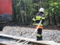 ćwiczenia ratowniczo - gaśnicze Lubin (69)