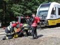 ćwiczenia ratowniczo - gaśnicze Lubin (11)