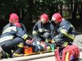 ćwiczenia ratowniczo - gaśnicze Lubin (18)