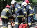 ćwiczenia ratowniczo - gaśnicze Lubin (22)
