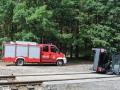 ćwiczenia ratowniczo - gaśnicze Lubin (4)