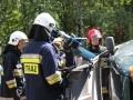 ćwiczenia ratowniczo - gaśnicze Lubin (43)