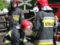 ćwiczenia ratowniczo - gaśnicze Lubin (49)