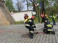 ćwiczenia straży pożarnej w Legnicy (29)