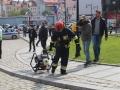 ćwiczenia straży pożarnej w Legnicy (40)