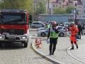 ćwiczenia straży pożarnej w Legnicy (41)