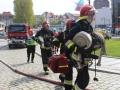 ćwiczenia straży pożarnej w Legnicy (43)