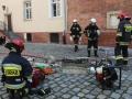ćwiczenia straży pożarnej w Legnicy (52)