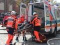 ćwiczenia straży pożarnej w Legnicy (58)