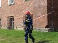 ćwiczenia straży pożarnej w Legnicy (64)