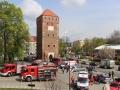 ćwiczenia straży pożarnej w Legnicy (70)