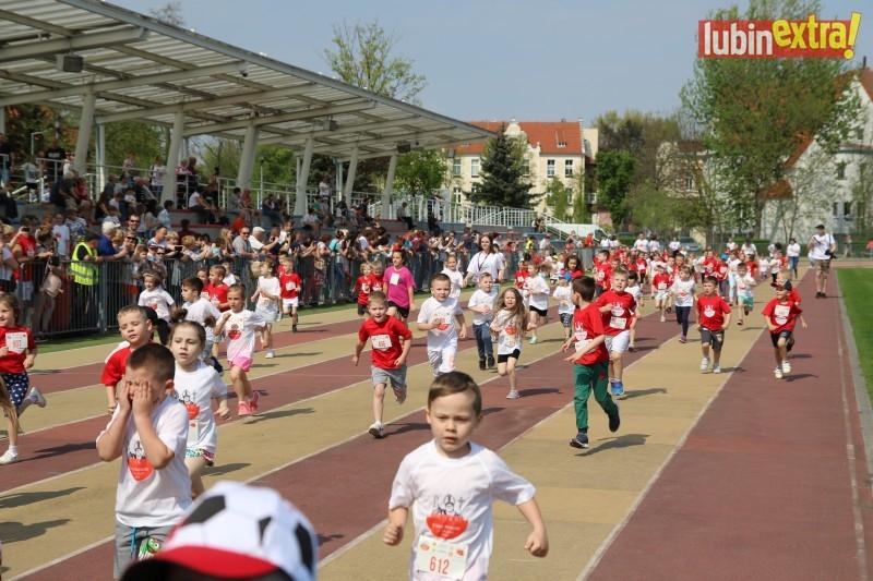 V bieg papieski dzieci 150