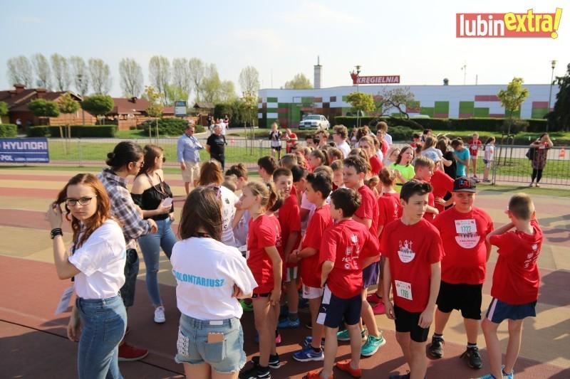 V bieg papieski dzieci 480