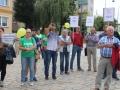 manifestacja w obronie III LO (1)