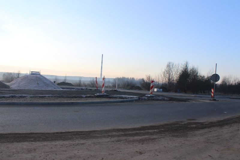 remont drogi Lubin - Krzeczyn (1)