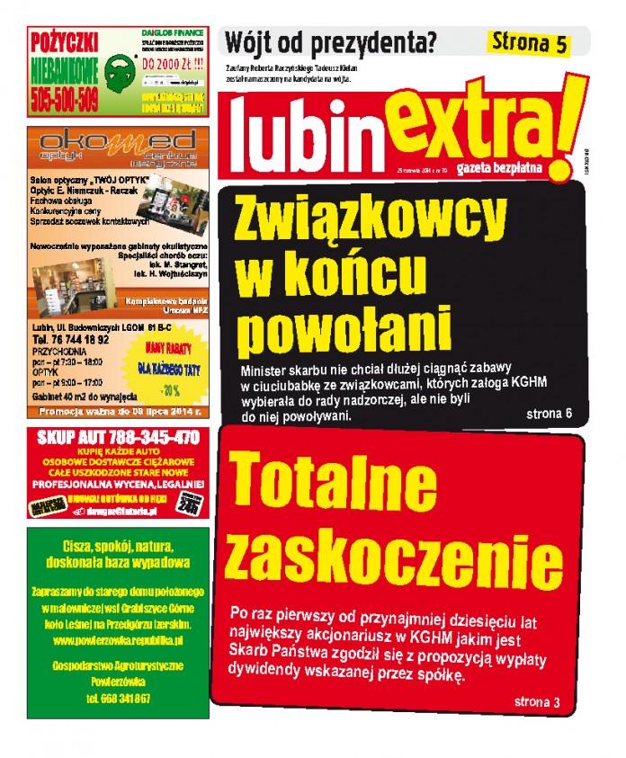 thumbnail of LubinExtra! nr 70