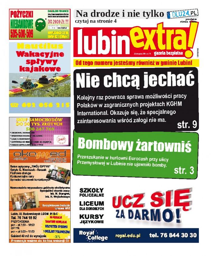 thumbnail of LubinExtra! nr 74