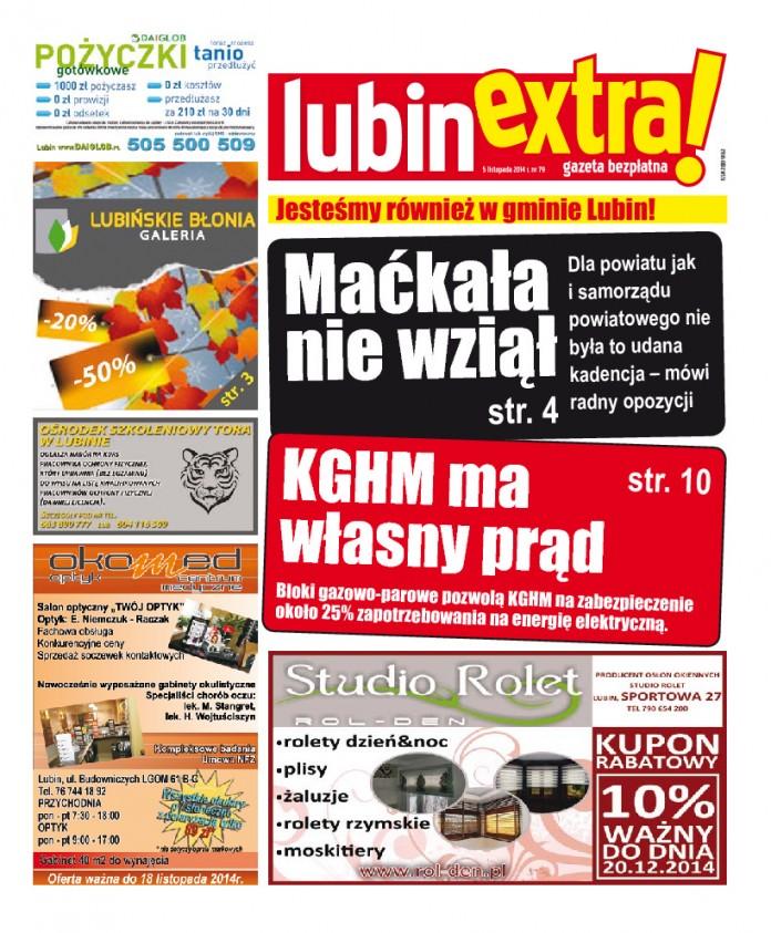 thumbnail of LubinExtra! nr 79
