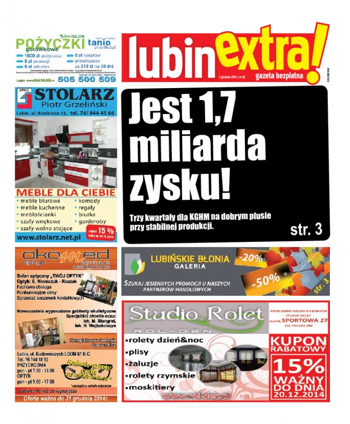 thumbnail of LubinExtra! nr 82