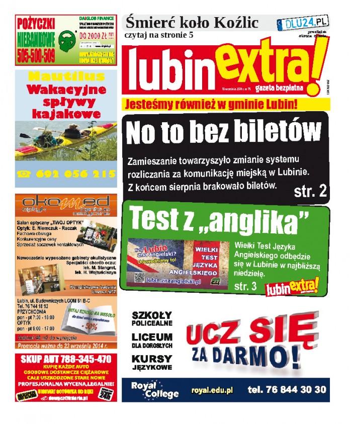 thumbnail of LubinExtra! nr 75
